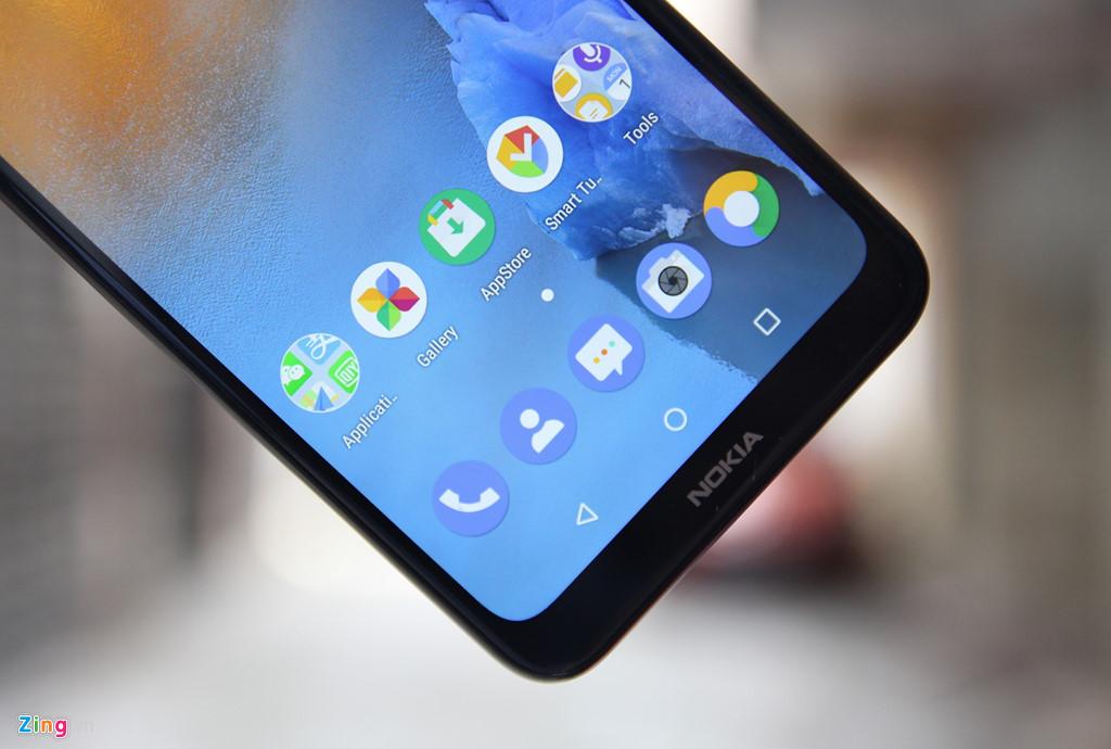 Chi tiet Nokia X5 vua ve VN - giong iPhone X, gia tu 3 trieu dong hinh anh 4