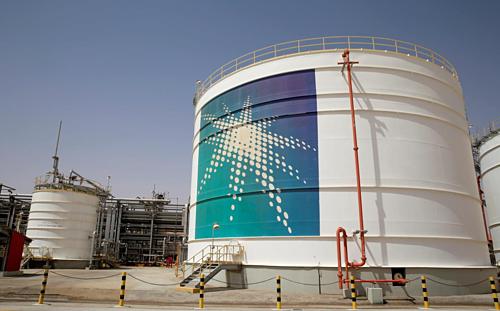 Một cơ sở sản xuất dầu mỏ của Saudi Aramco. Ảnh: Reuters