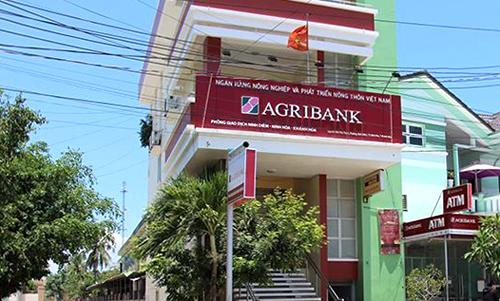 Phòng giao dịch ngân hàng ở Khánh Hòa, nơi khách hàng phản ứng vì mất tiền gửi trong sổ tiết kiệm. Ảnh: An Phước.