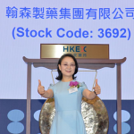 Bà Zhong Huijuan. Ảnh: Hong Kong Exchanges and Clearing